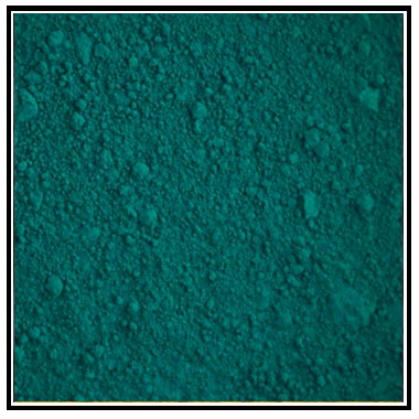 Iconography Supplies - Artists Pigment - Phthalo Green