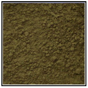 Iconography Supplies - Artists Pigment - Raw Umber Green
