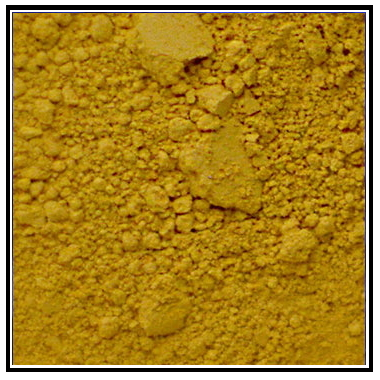 Iconography Supplies - Artists Pigment - Yellow Ochre
