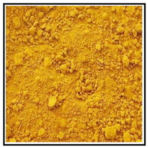 Iconography Supplies - Artists Pigment - Yellow Oxide
