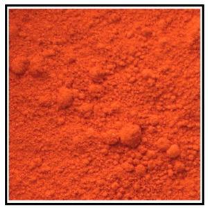 IconographySupplies - Artists Pigment - Cadmium Orange