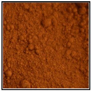 Iconography Supplies - Artists Pigment - Mars Orange