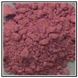 Iconography Supplies - Artists Pigment - Potters Pink